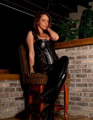 Nikki In Black Corset - 00