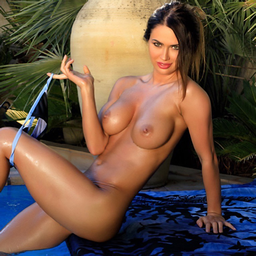 Justyna In Blue Deep