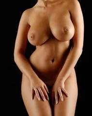 Busty Chikita Posing Naked