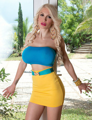 Bella French Yellow Mini Skirt - 01