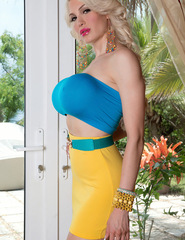 Bella French Yellow Mini Skirt - 07