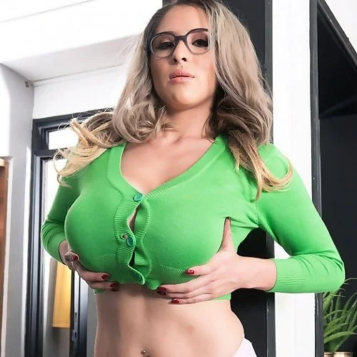 Glasses Katy Shavon Massive Big Tits