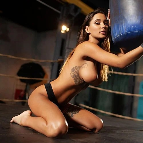 Medina Is A Busty Boxer