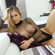 Sammi Tye In Black Mesh