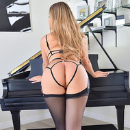 Giselle In Sexy Black Lingerie